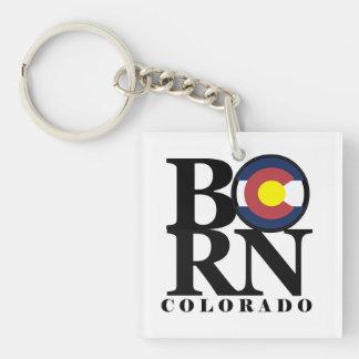 BORN Colorado Key Chain
