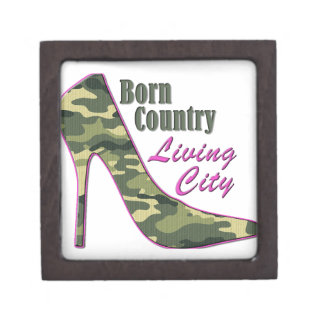 Born Country, Living City Premium Jewelry Boxes