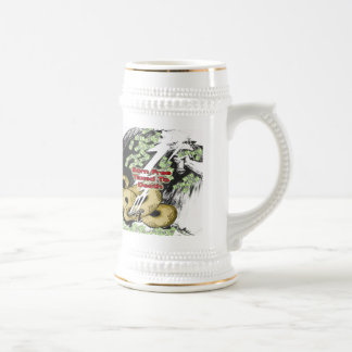 Born Free Taxed to Death Beer Steins