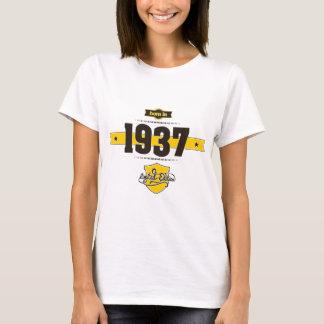 born in 1937 (choco&yellow) T-Shirt