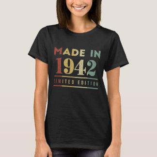 Born In 1942 T-Shirt. Birthday Costume Ideas. T-Shirt