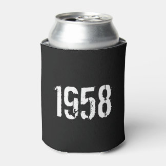 Born in 1958 60th Birthday Can Cooler