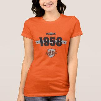 Born in 1958 (Dark&Lightgrey) T-Shirt