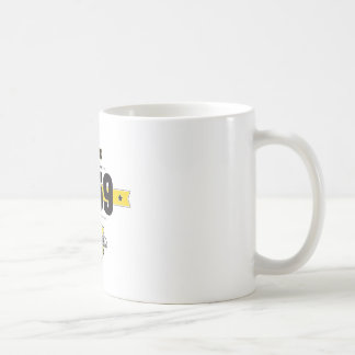 born in 1959 (choco&yellow) coffee mug
