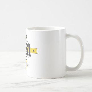 Born in 1961 coffee mug