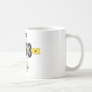 Born in 1963 coffee mug