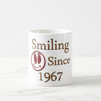 Born in 1967 coffee mug