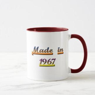 BORN IN 1967 MUG