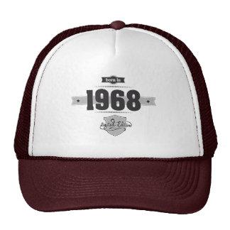 Born in 1968 (Dark&Lightgrey) Trucker Hat