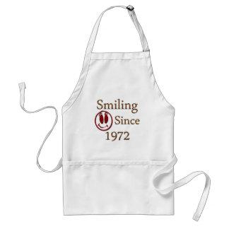 Born in 1972 standard apron