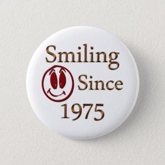 Born in 1975 2 inch round button