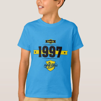 born in 1997 (choco&yellow) T-Shirt
