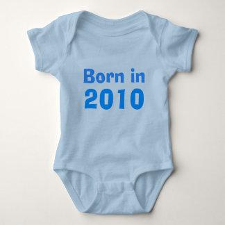 Born in 2010 baby bodysuit
