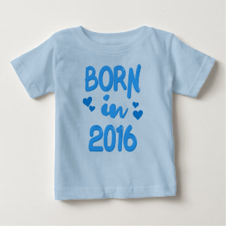 Born in 2016 Baby Boy T-shirt