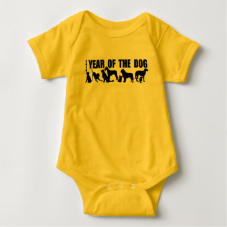 Born in 2018 Chinese New Year of The Dog Y Bodysui Baby Bodysuit