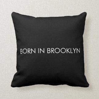 Born in Brooklyn Throw Pillow