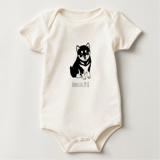 Born in Dog Year 2018 Baby Bodysuit