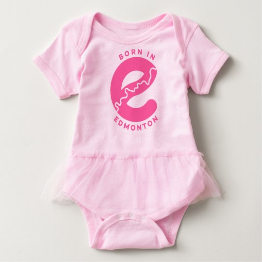 Born in Edmonton Baby Bodysuit