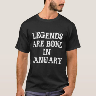 Born in January T-Shirt