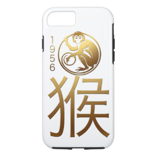 Born in Monkey Year 1956 - Chinese Astrology iPhone 7 Case