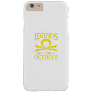 Born In October Libra Zodiac Sign Birthday Gif Barely There iPhone 6 Plus Case