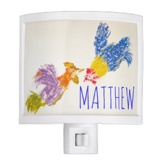 Born in Rooster Year 2017 personalized Night Light