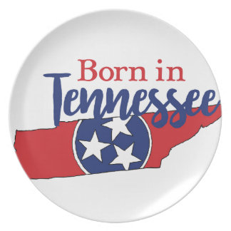 Born in Tennessee Plate
