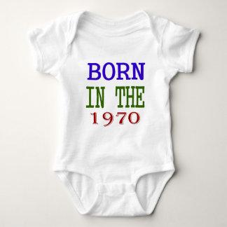 Born In The 1970 Baby Bodysuit