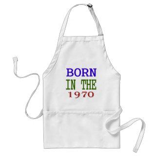 Born In The 1970 Standard Apron