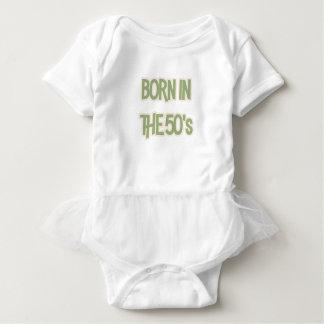 Born In The 50's Baby Bodysuit