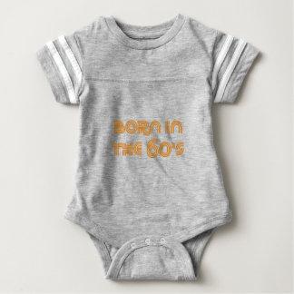 Born In The 60's Baby Bodysuit