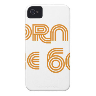 Born In The 60's iPhone 4 Case
