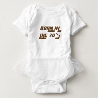 Born In The 70's Baby Bodysuit