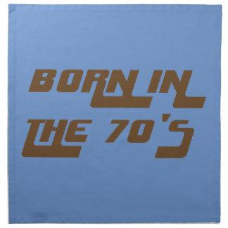 Born In The 70's Napkin