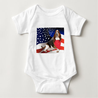 Born in the USA Baby Bodysuit