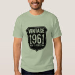 Born in year 1961 | aged to perfection t shirt men
