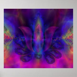Born Of Lotus Poster