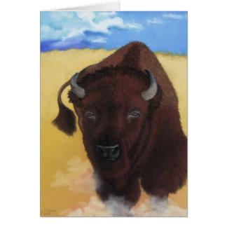 Born of Thunder - Buffalo Bison Card