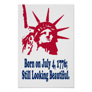 Born on July 4, 1776 Print