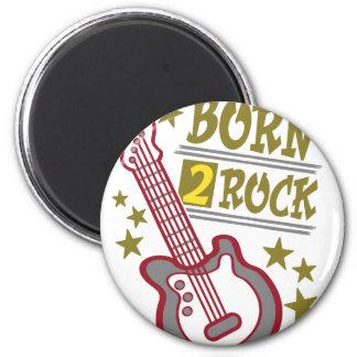 Born  rock Guitar, guitarist design Magnet