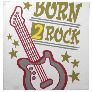 Born  rock Guitar, guitarist design Napkin
