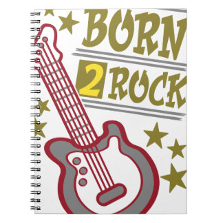 Born  rock Guitar, guitarist design Notebook