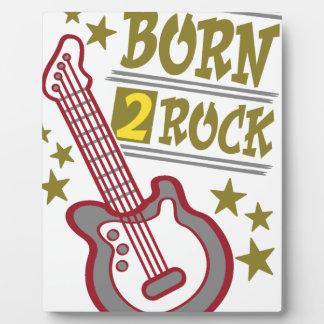 Born  rock Guitar, guitarist design Plaque
