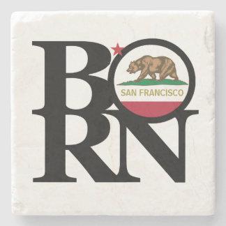 BORN San Francisco Stone Coaster