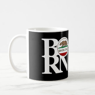 BORN Santa Cruz 11oz Black Coffee Mug