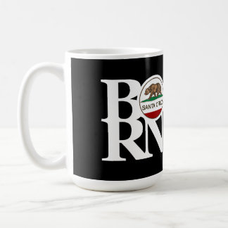 BORN Santa Cruz 15oz Black Coffee Mug