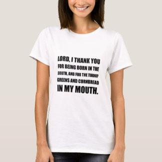 Born South Cornbread Mouth T-Shirt