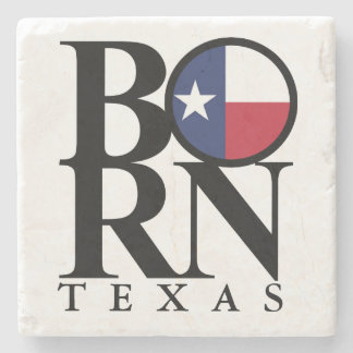 BORN Texas Stone Coaster