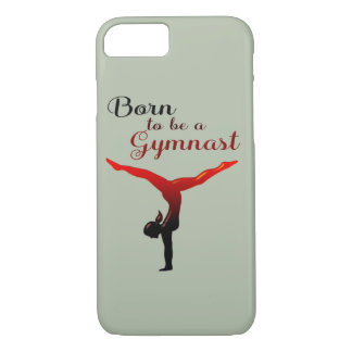 Born to be a Gymnast iPhone 8/7 Case