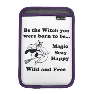 Born To Be A Witch iPad Mini Sleeve